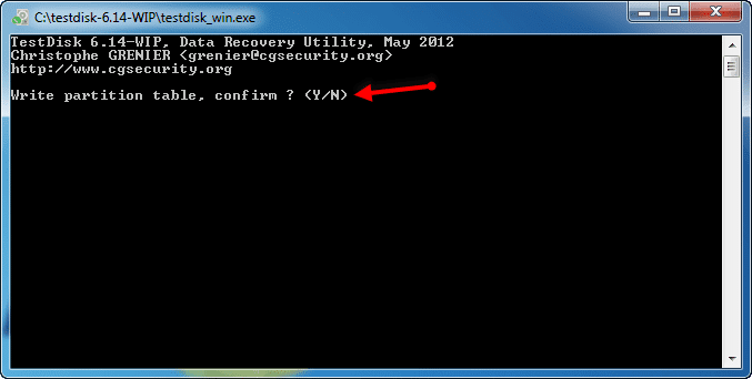 How to recover lost drive