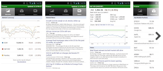 Google Finance for Android