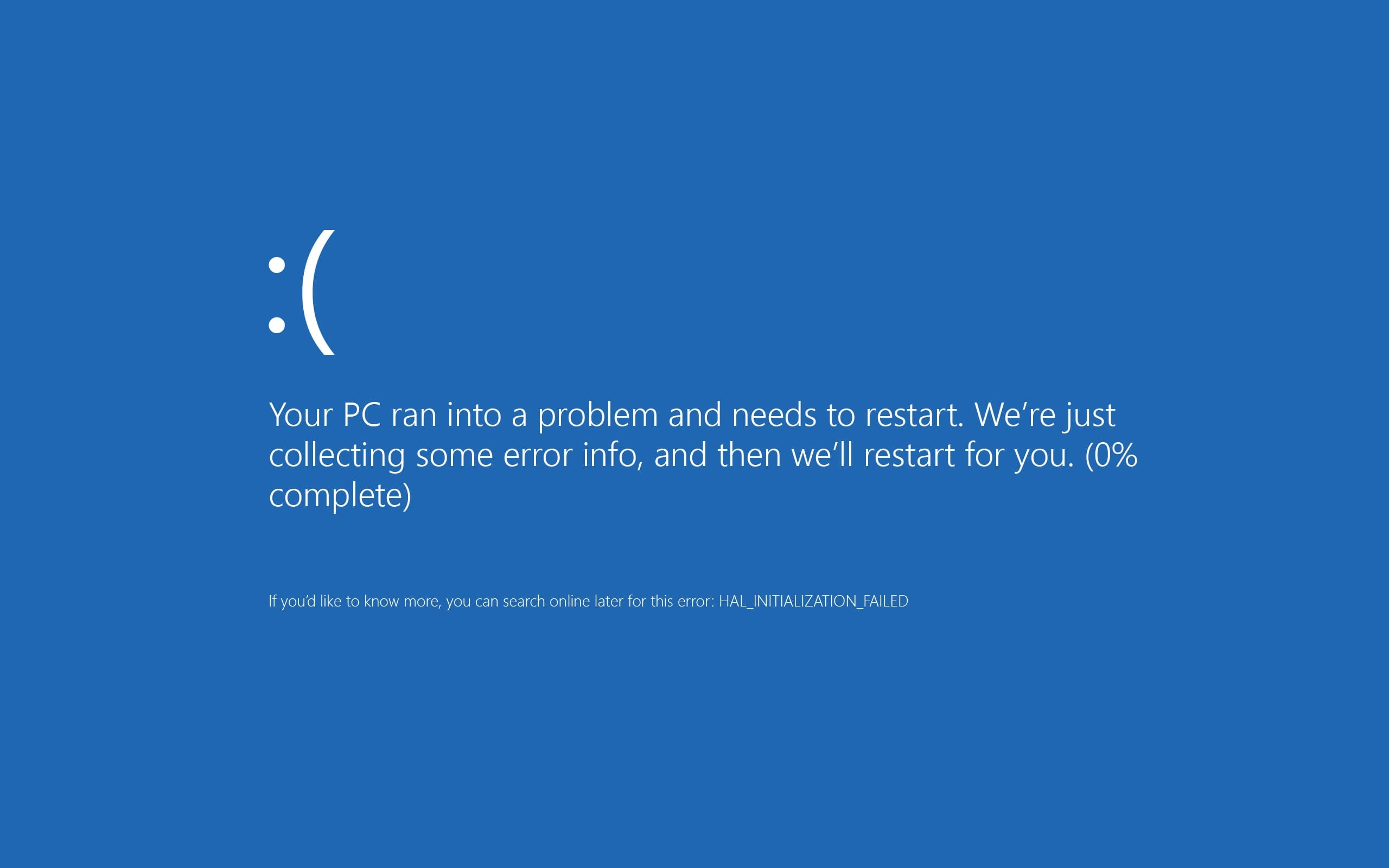 windows 8 blue screen of death