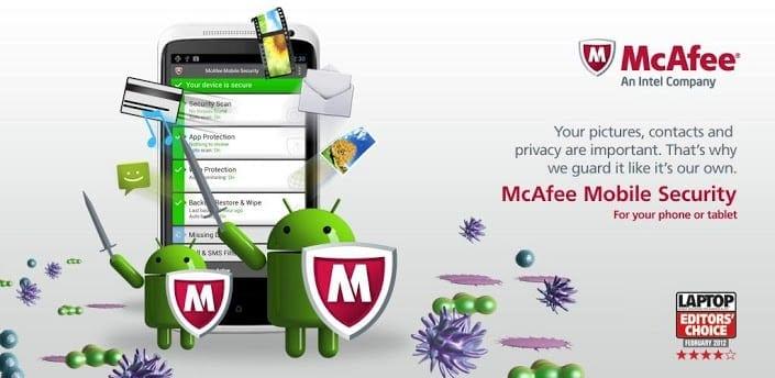 mcafee android antivirus