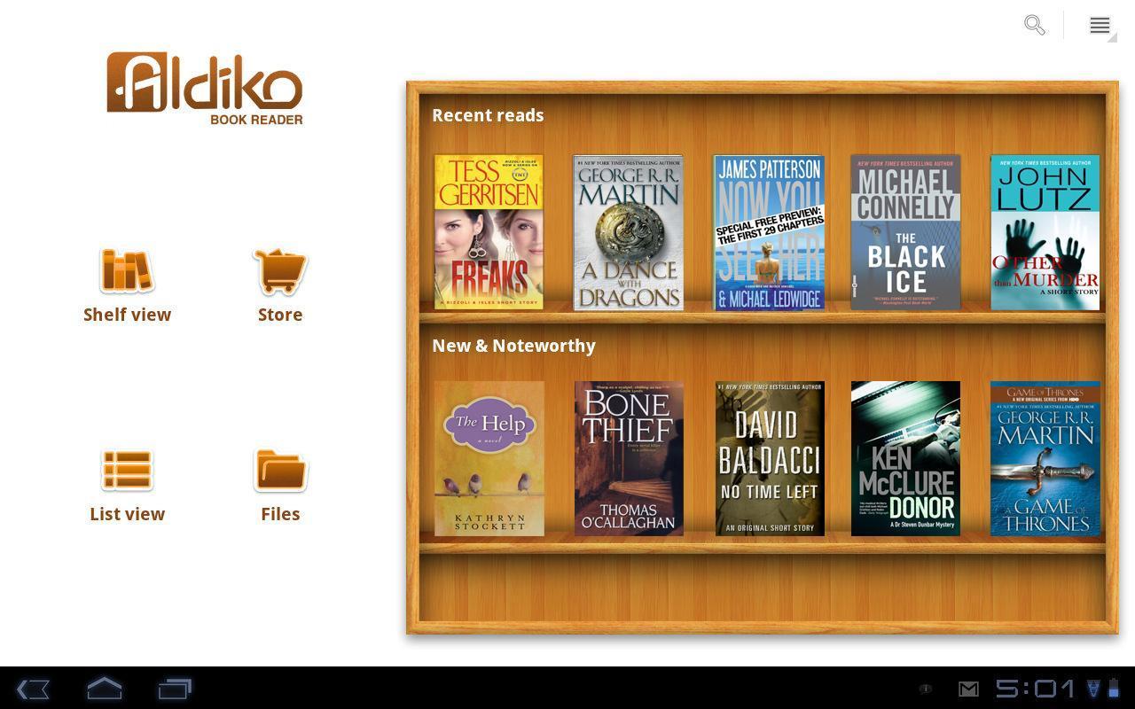 Aldiko Book eReader