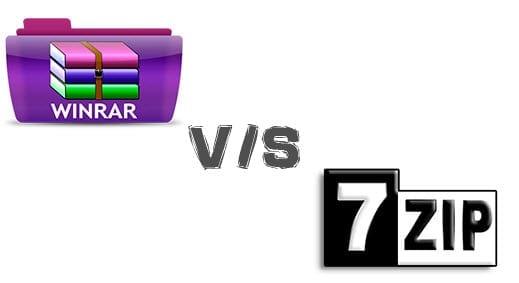 winrar vs 7-zip